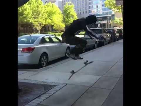 Everything is bigger in #Texas 🔥 @ribs.man | Shralpin Skateboarding