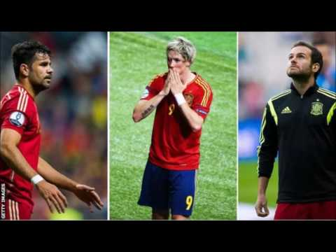 Euro 2016: Diego Costa, Juan Mata & Fernando Torres not in Spain squad