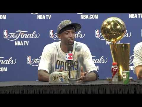 NBA Finals 2011 Game 6 Postgame Jason Kidd and Jason Terry