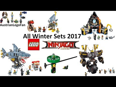 All Lego Ninjago Movie Winter Sets 2017 Compilation - Lego Speed Build Review streaming vf