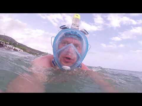 Полнолицевая маска для плаванья  Опыт использования  Отзыв