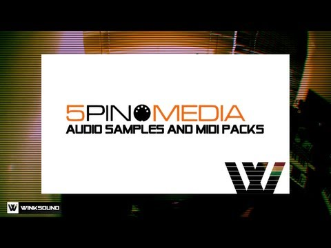 5Pin Media: Audio Samples and MIDI Packs | WinkSound