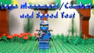 Lego Stop Motion Movement/Combat and Speed Tests