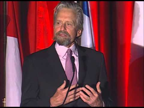 Michael Douglas Speaks About His Battle With Cancer at the 2014 AHNS and IFHNOS Meeting