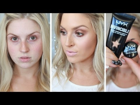 First Impression Review ♡ Nyx Invincible Fullest Coverage Foundation video
