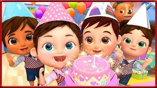 Happy Birthday Song | Kids Party Songs & Nursery Rhymes | Best Birthday Wishes & Songs Collections