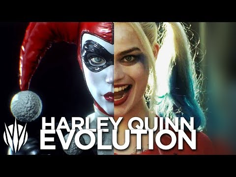 HARLEY QUINN EVOLUTION (FULL) 1993-2017