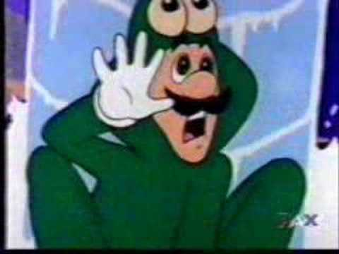 Youtube Poop: LUIGI DOESN'T NEED A FROG SUIT!