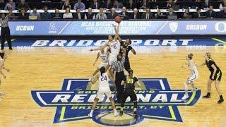 UConn Women's Basketball Highlights vs. Oregon 03/27/2017 (NCAA Tournament Elite Eight)