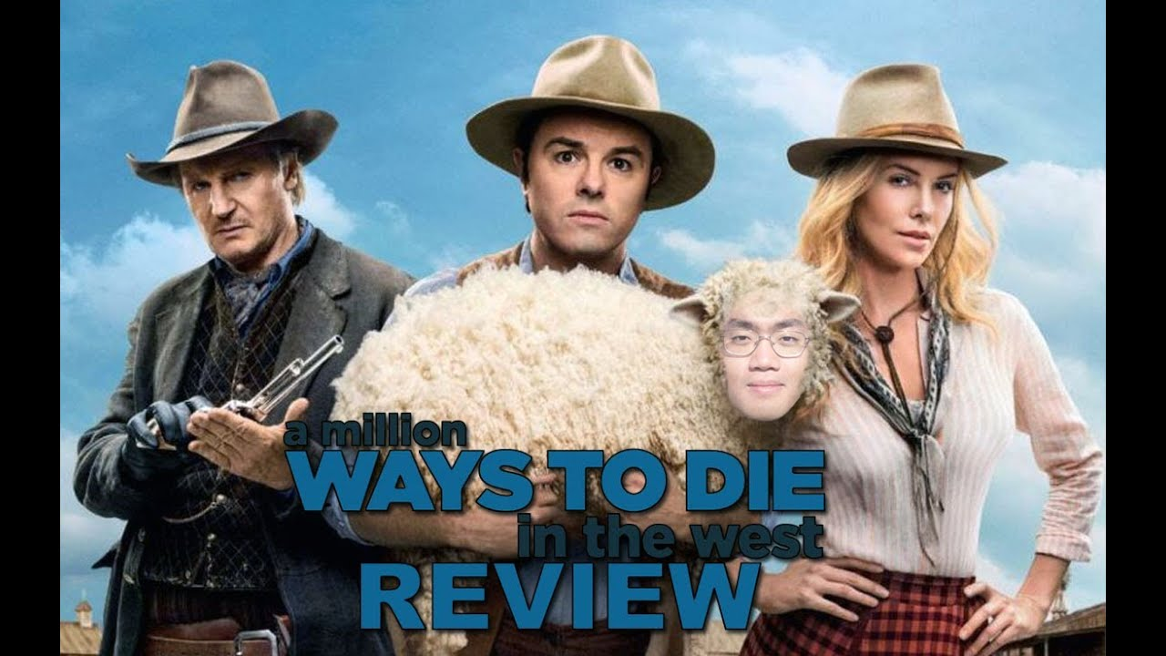 a million ways to die in the west movie review youtube
