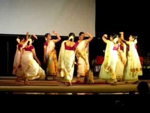 Ess Thiruvathira  World Malayali Council Thiruvathira Competition.. Wins The 2nd Prize video