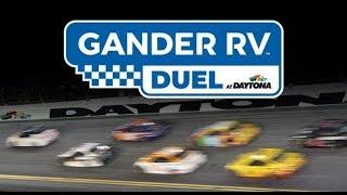 2019 NASCAR GandersRV Duel1 RaceView LIVE