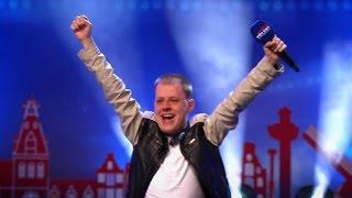 Jurriaan maakt een feestje van zijn auditie!  - HOLLAND'S GOT TALENT