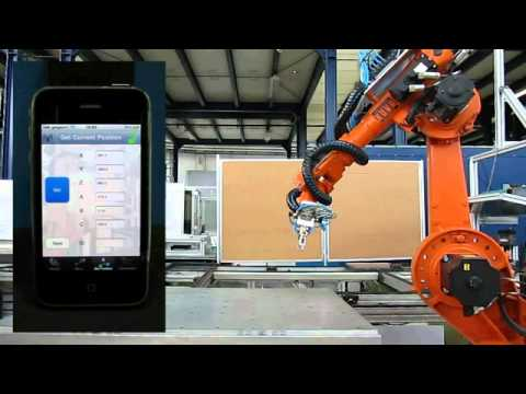 iPhone Industrial Robot Control – KUKA KR 6 – congnghiep.edu.vn