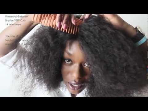 DIY Curly Lace Wig   Princess Hair Shop Brazilian