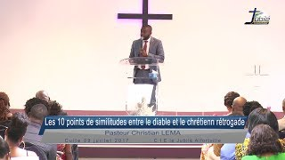 10 points de similitudes entre le diable et le chrétien rétrograde - Past Christian LEMA