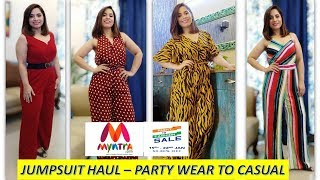 MYNTRA JUMPSUITS FOR PARTY WEAR / VACATIONS / LATEST JUMPSUITS    SARITA MALIK