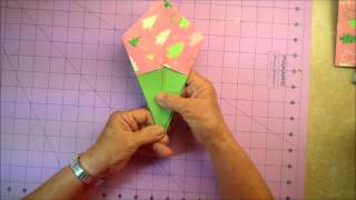Origami Gift Box Demonstration