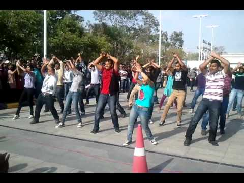 Flash Mob @ DLF IT Park by Pega Systems Employees