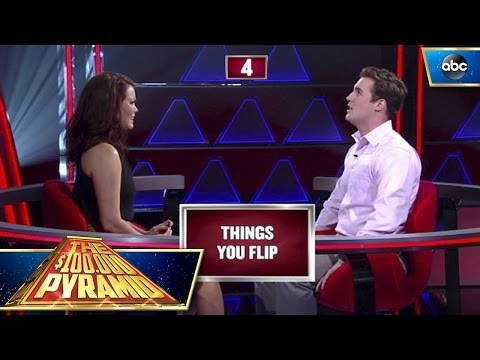 Bellamy Young's Clutch Win - $100,000 Pyramid