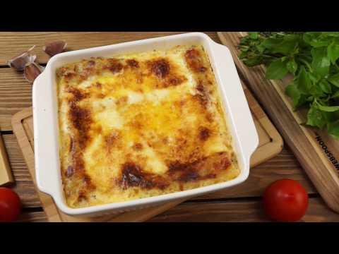 Каннеллони с фаршем под соусом бешамель рецепт в духовке