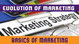 2. Evolution Of Marketing   Strategic Concept Of Marketing   Selling Concept V/s Marketing Concept