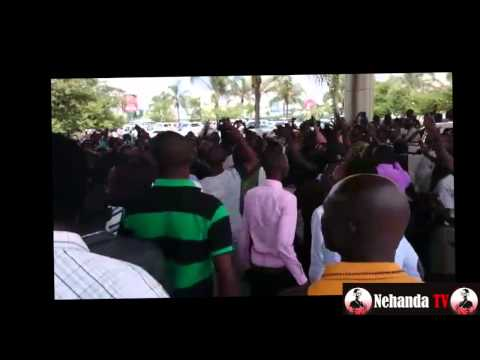 """Mugabe Must Go"" demo in Zambia"