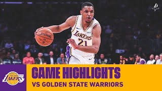 HIGHLIGHTS | Zach Norvell Jr. vs. Golden State Warriors (10/14/19) | Lakers