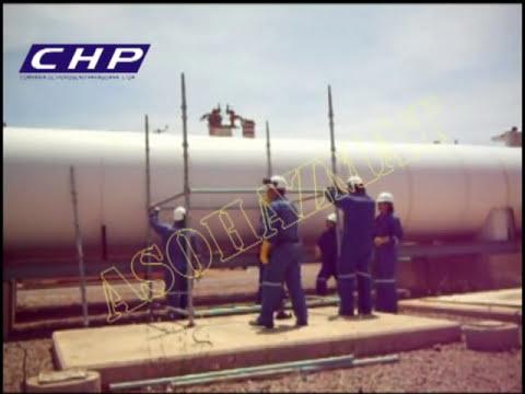 CHP Trabajos en Alturas (Sistema de Andamios CUP-LOCK)