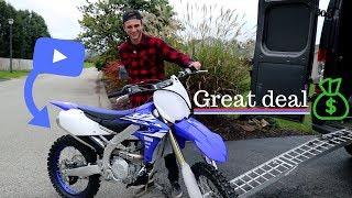Buying a new dirt bike | 2018 Yamaha yz 450f !!