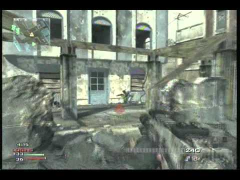 MW3 Kill Confirmed on Bakaara (MP7 silenced) last first presitige video