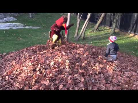 Tom Brady Dresses Up As Turkey, Scares Kids In Pile Of Leaves