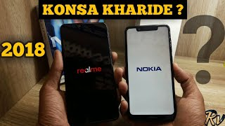 Nokia 5.1 Plus vs Realme 2