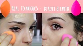 BEAUTY BLENDER VS. REAL TECHNIQUES | ¿Es realmente diferente la BB?