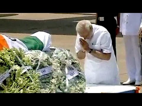 Former President APJ Abdul Kalam's body brought to Delhi; President, PM pay tributes
