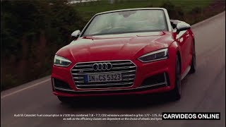 2019 Audi A5 and S5 Cabriolet - Top Down!