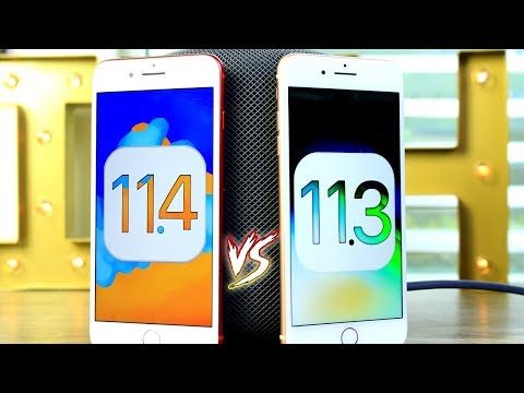 iOS 11.4 Battery and Performance TEST iPhone 8 Plus & iPhone 7 Plus