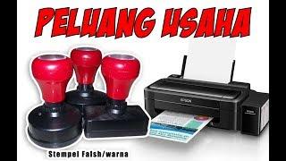 TUTORIAL / CARA MEMBUAT STEMPEL FLASH DENGAN PRINTER BIASA (INKJET)