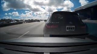 1-11-17 Car Accident (Me vs Mercedes)
