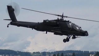 DETAILED BOEING AH-64 APACHE ELECTRIC SCALE RC MODEL HELICOPTER