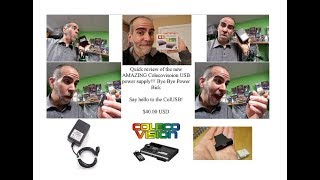 ColUSB - a new USB Power adapter for the Colecovision! YES!
