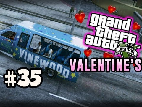 VINEWOOD TOUR - Grand Theft Auto 5 VALENTINE'S DAY ONLINE w/ Nova Kevin & Immortal Ep.35