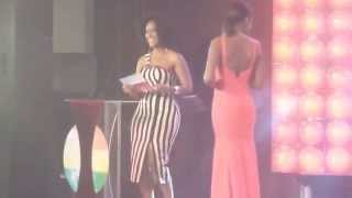 Shocker Joselyn Dumas turns down John Dumelo proposal live at Ghana Music Awards