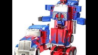 Ô tô biến hình Robot Transformer có điều khiển từ xa T669
