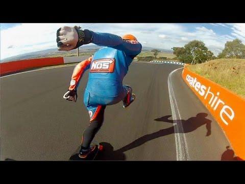 GoPro: Louis Pilloni & Sector 9 - Downhill Skateboarding