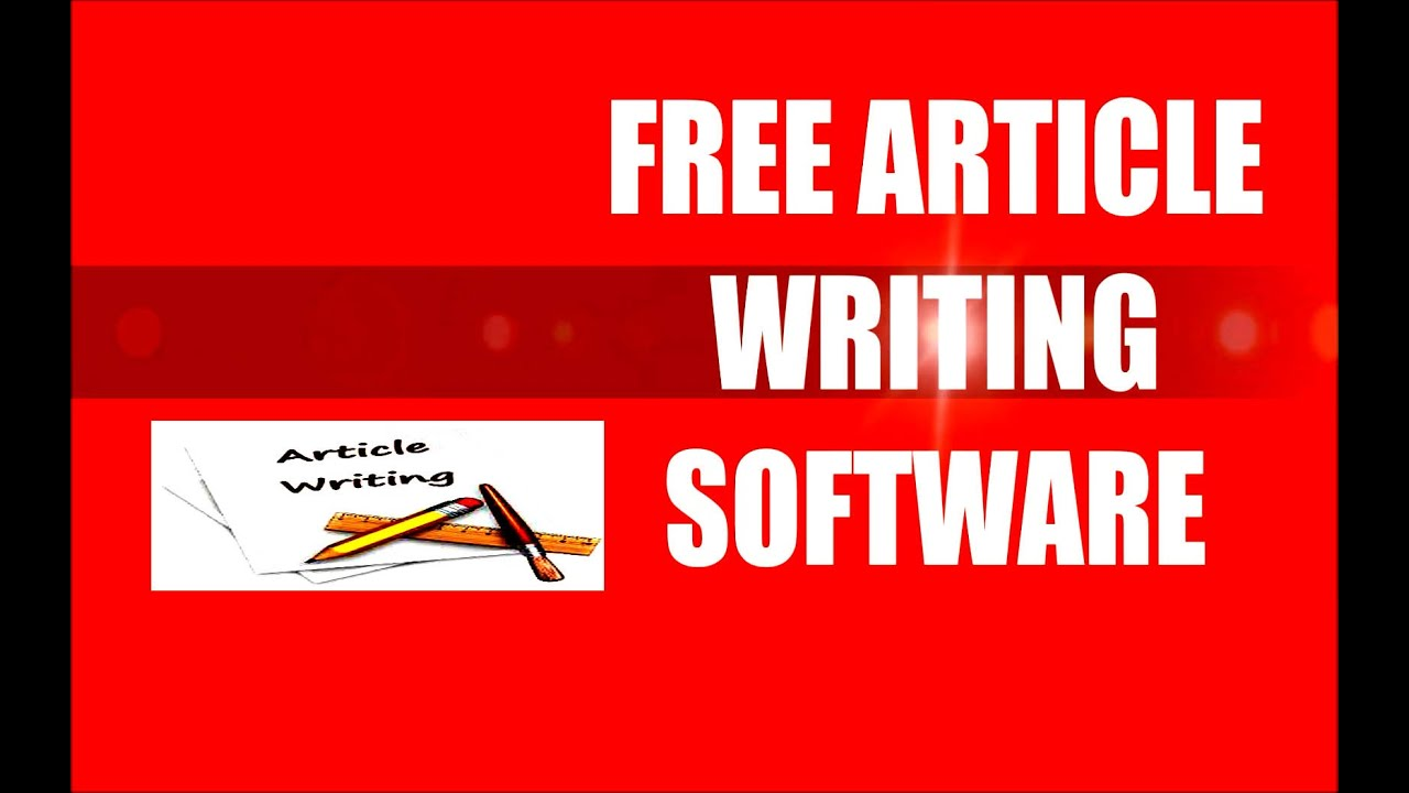 Theology free online article writing software