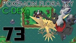 Pokémon Flora Sky C-Dex Walkthrough Part 73 [Darkrai and Zapdos]