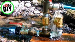 Hydraulic Ram Pump Build