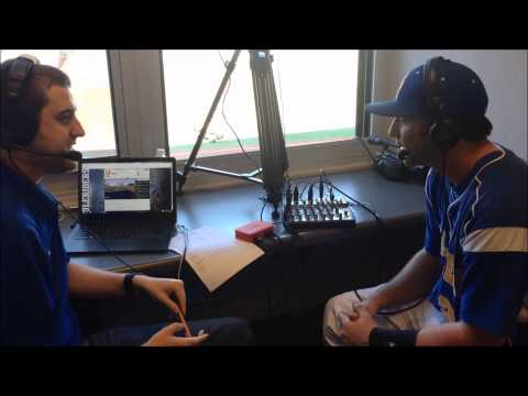 2.8.15 SAU Baseball Post game interview