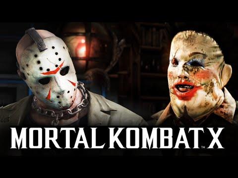 Mortal Kombat X -  КОЖАНОЕ ЛИЦО ПРОТИВ ДЖЕЙСОНА